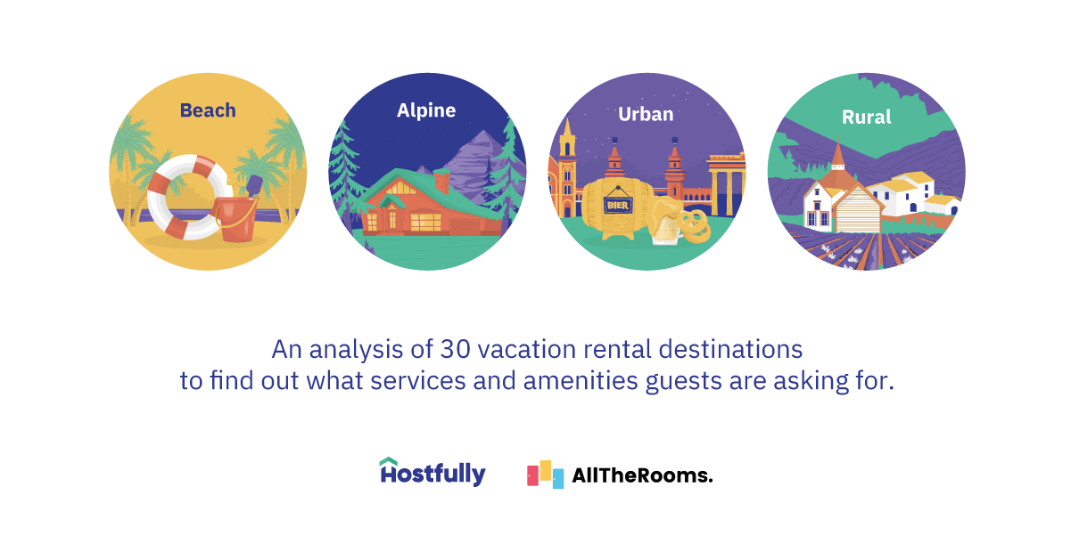 Amenities and services vacation rental guests will pay more for [2019 data]